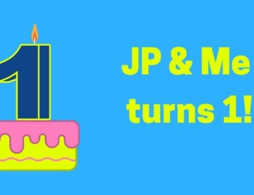 JP and Me Turns 1!